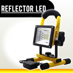 Reflector Led 30w Portatil Y Recargable 2400LM