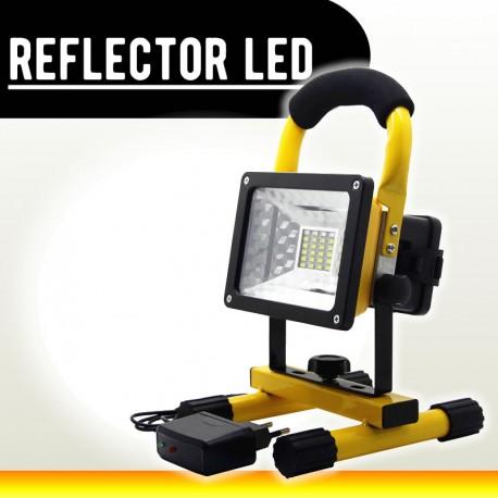 Reflector Led 30w Portatil Y Recargable 2400LM